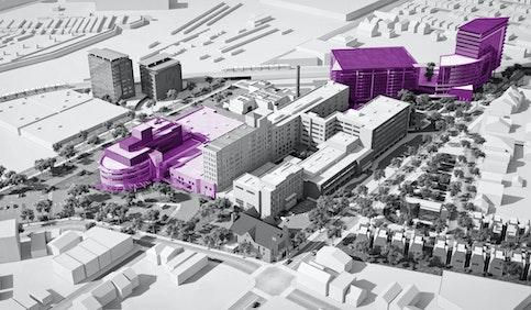 FCA: RWJBarnabas Health: Jersey City Medical Center, Master Plan